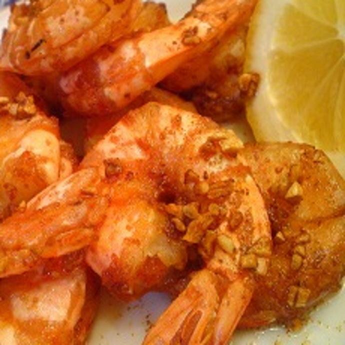 Garlic shrimp (from 2)