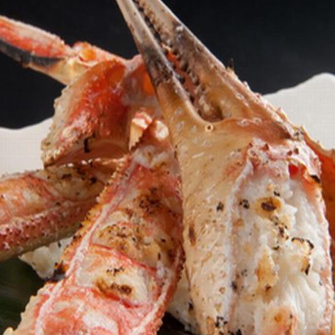 Grilled crab crab
