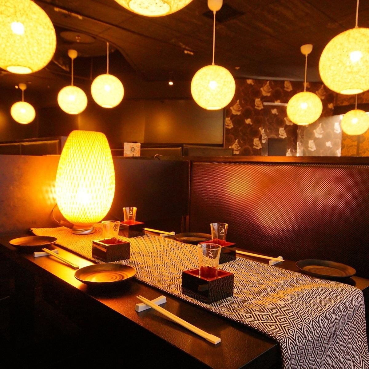 In a warm atmosphere ♪ In the evening you can also see a pair of sheets that can see the night view ◎