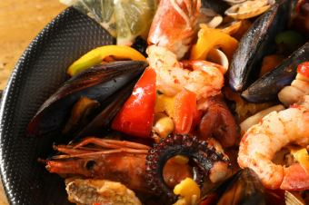 漁夫的海鮮味日式pajas
