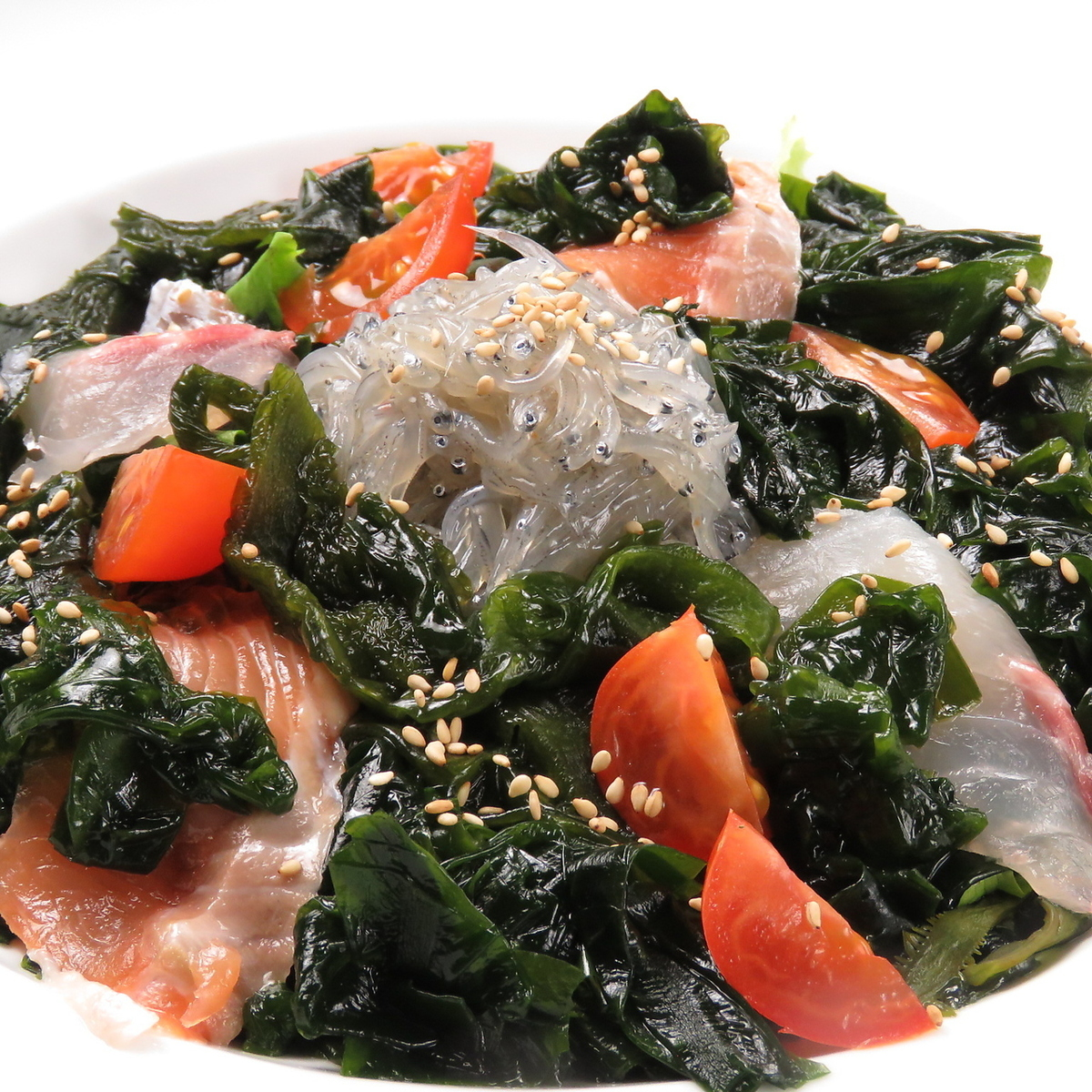大和わかめと大和しらすの海鮮サラダ