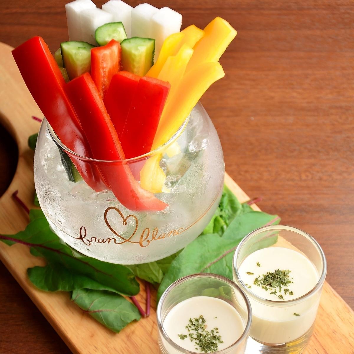 酒吧主食棒蔬菜Bagna cauda!