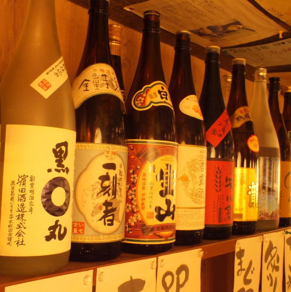 こだわりの日本酒勢ぞろい