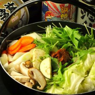 "120 minutes with unlimited drinks ★ Water cooking pots and seafood pots ""Pot hot pot selection"" 2980 yen ⇒ 2680 yen"