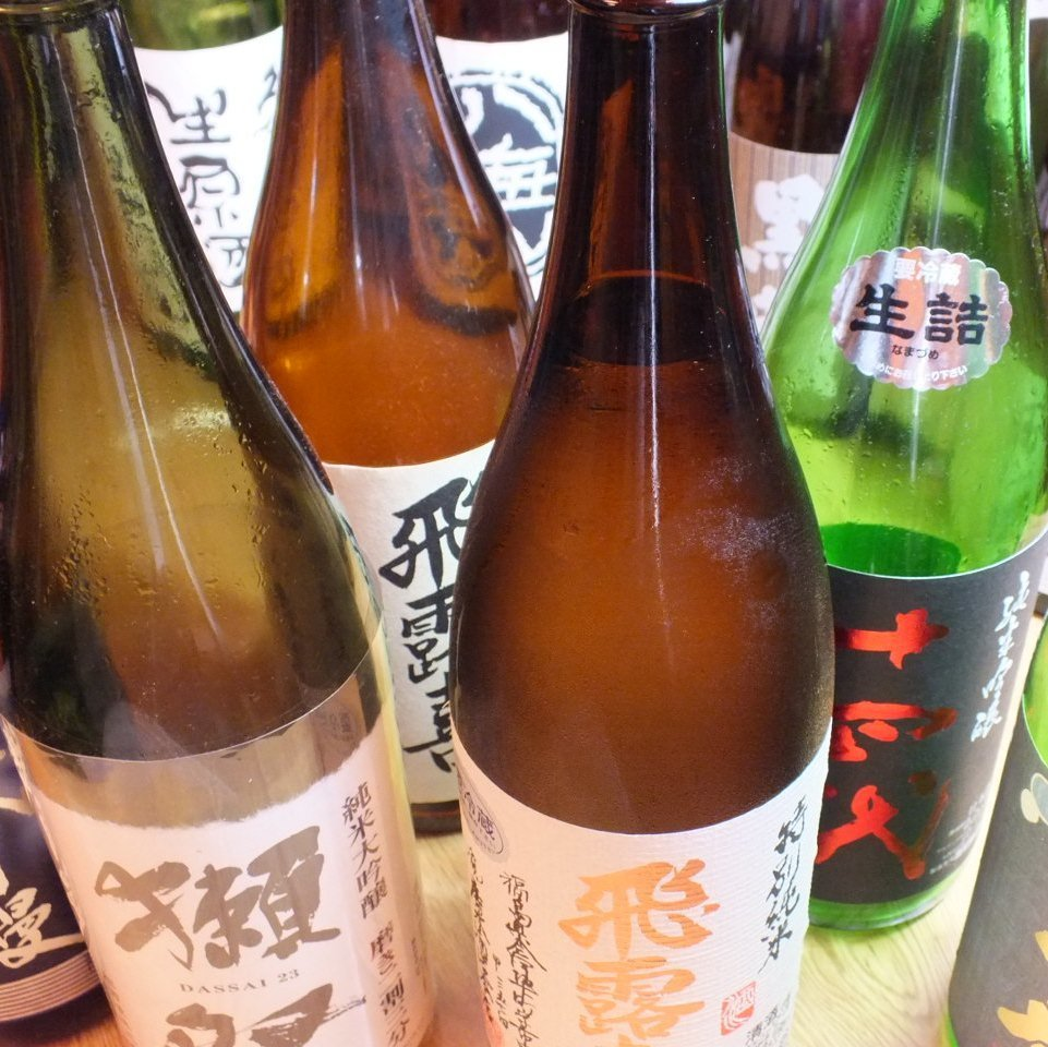 Shochu, Japanese sake, local sake etc. are abundant! ※ We offer services from the glass ☆