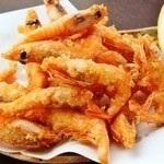 甜虾煎蛋/土豆薯条/蟹肉炸丸子