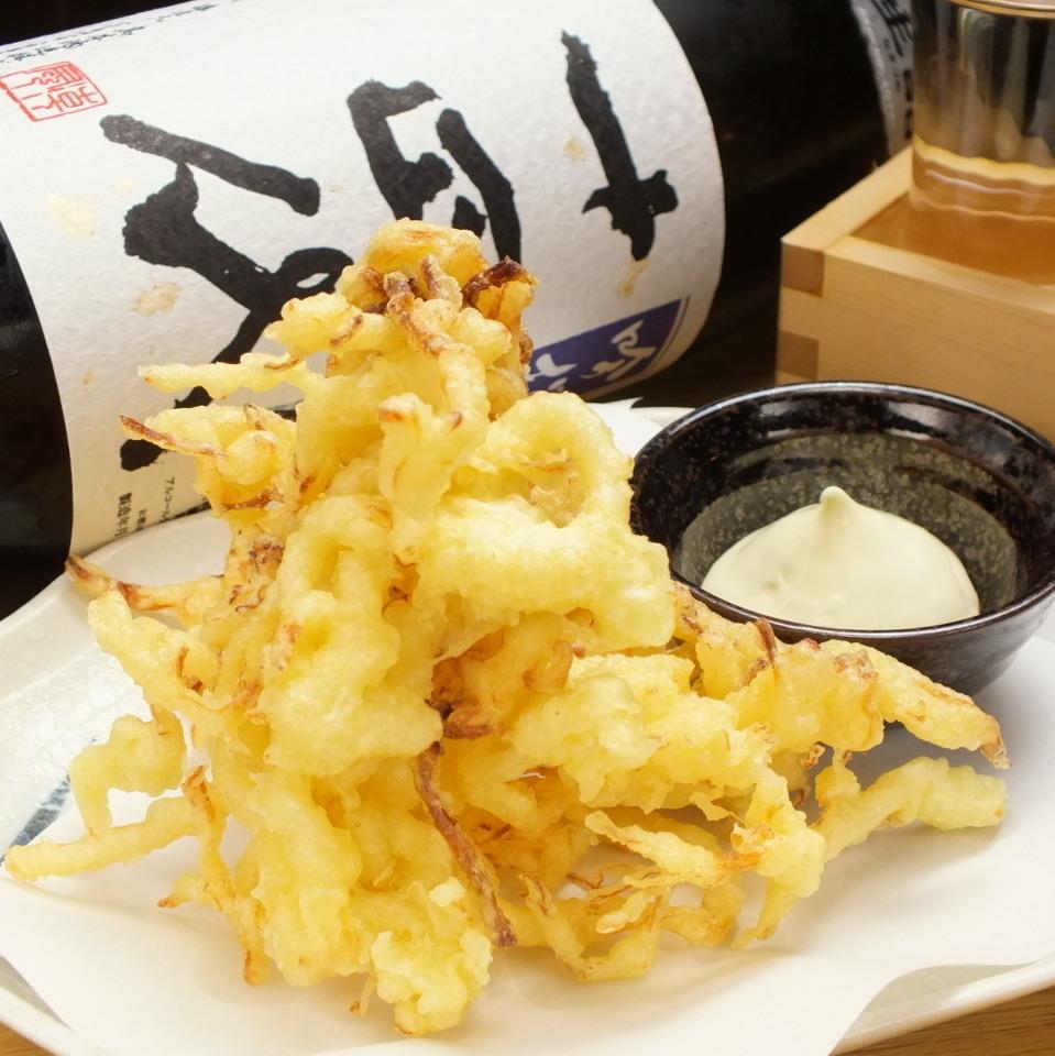 炒章鱼烧/虾饺/石灰天妇罗