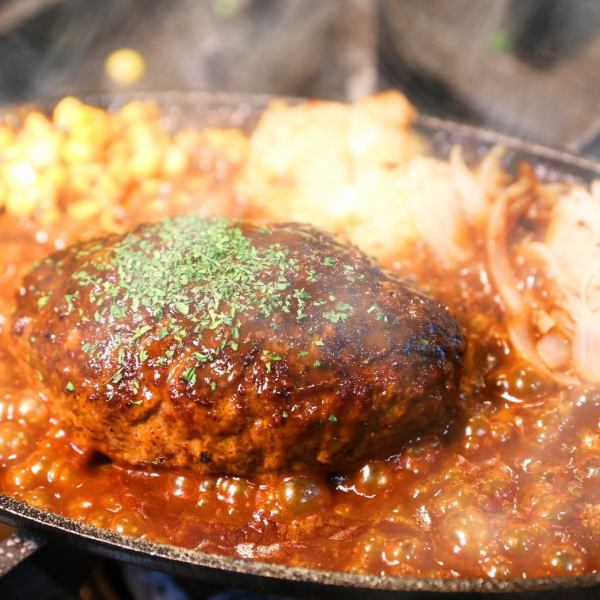 ★ ★ Charcoal Grilled Beef Hamburger ★ ★