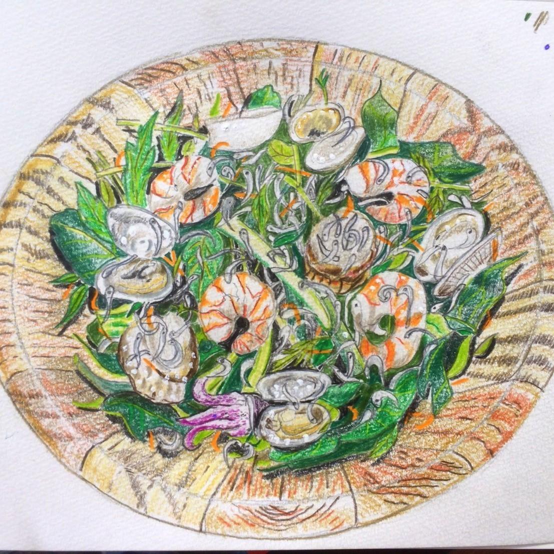 シーフードマリネサラダ