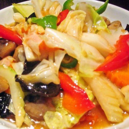 Pack · Pack · Ruam Mitt (Stir-fried Vegetable)