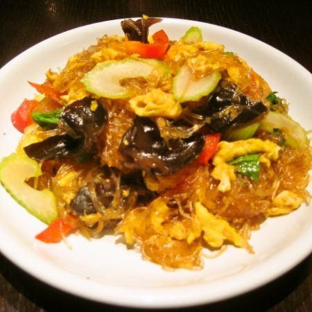 Pu-Eun Sen (stir-fried vermicelli)