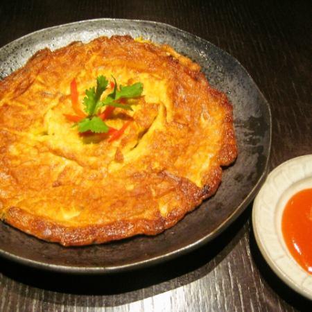 Kai · Chiao · Mu · Sap (Thai style omelet with pork)