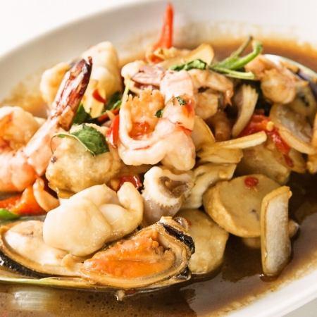 Pap · Gapao · Talay (Seafood no Gapao)