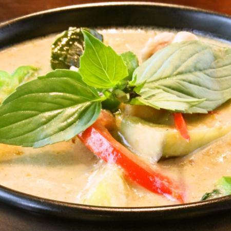 Gain · Kiao · Guy (Chicken's Green Curry)