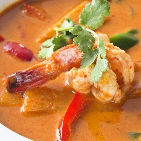 Gane · pet · kung (shrimp red curry)