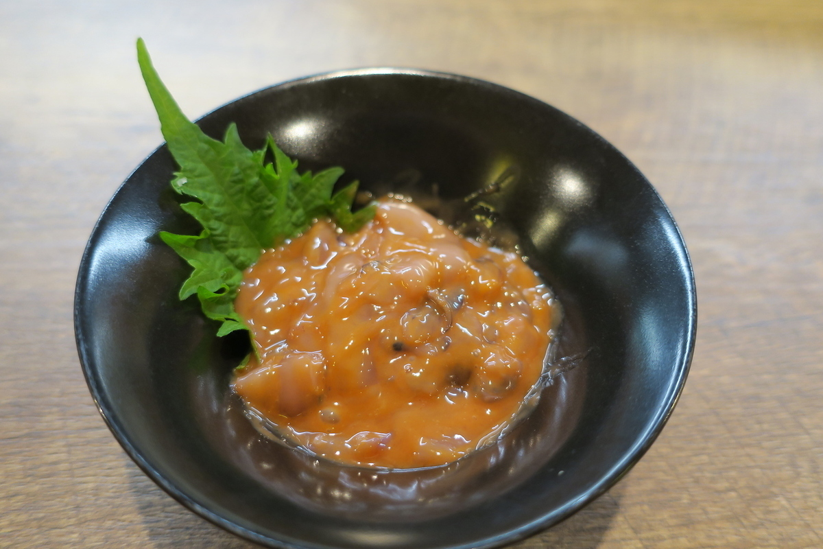 Hakodate squid salted fish