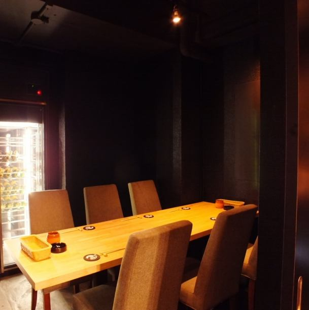 ★ Ambience ◎ complete private room ★ It is a fully-private room with a door that can be used by up to 6 people !! A workout return drinking party, a girls' party with a fun girls talk, a pretty girls talking in Roppongi, you can enjoy it slowly ♪ As there is only one room available, those who wish will recommend an early reservation ♪