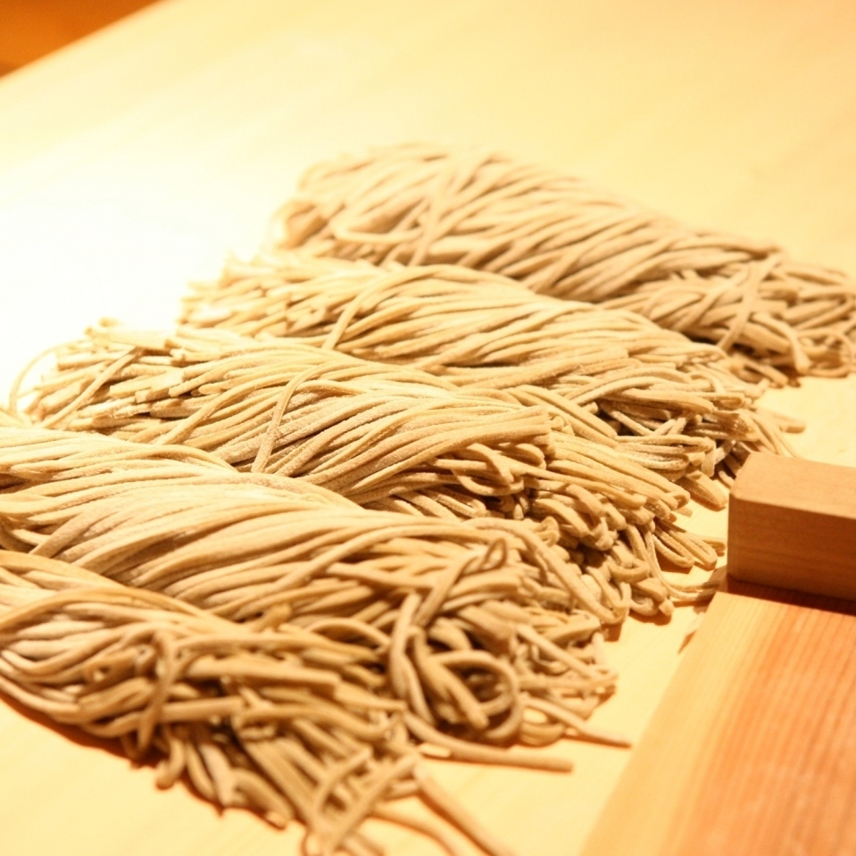 Restricted 20 meals country-style hand-made soba
