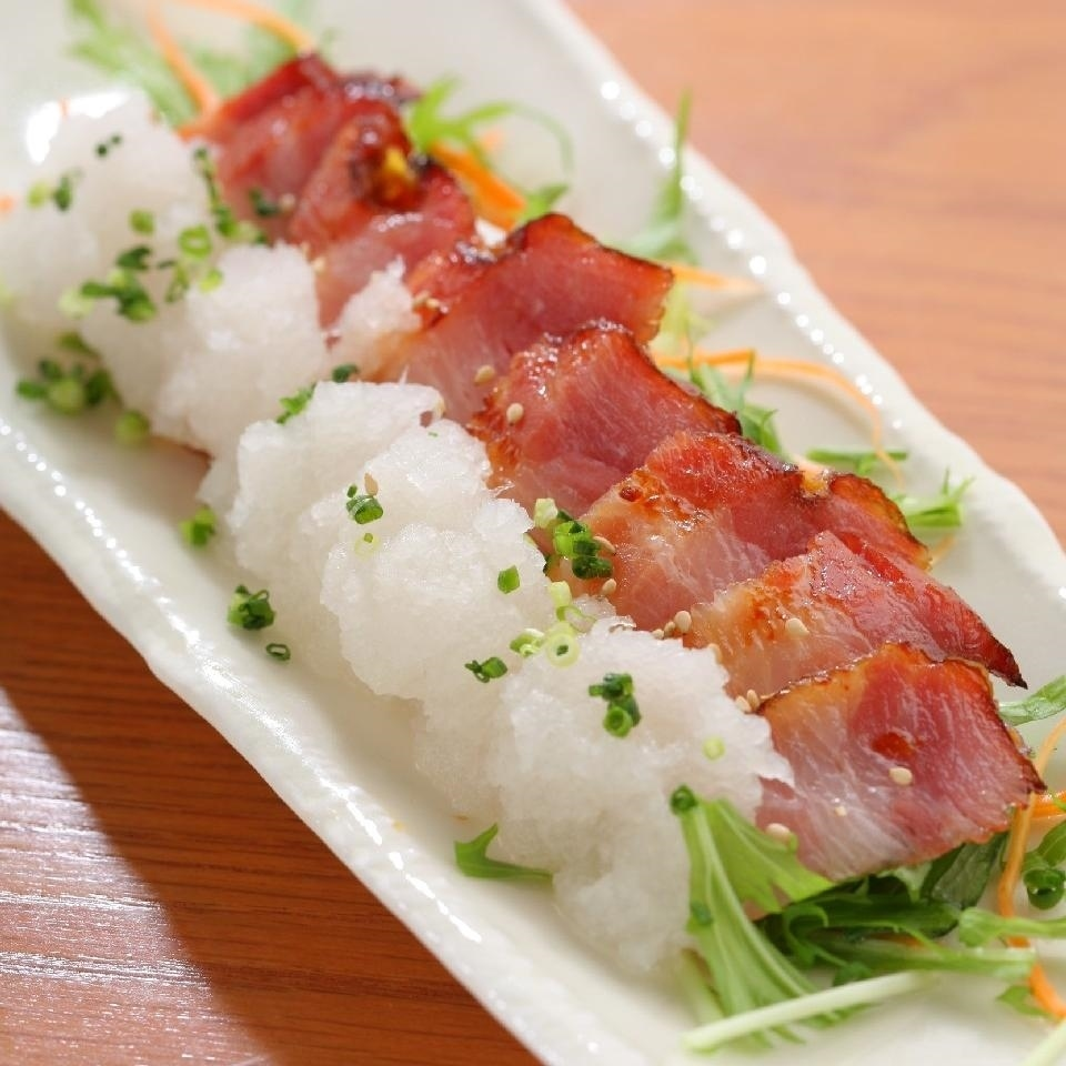 Grilled bacon, Saikyo grill