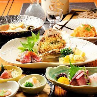 【新年派對的理想選擇♪】時令菜餚全菜!關東煮/烤菜【6000日元套餐】共7件