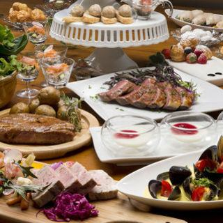 【PARTY C 6,000 yen】 All you can drink for 3 hours plenty including sparkling wine! Including meat dishes and fish dishes!