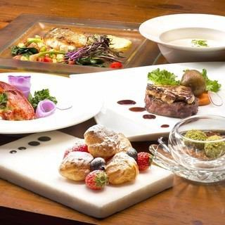 【Lunch Course · 2,500 yen】 Prefix lunch with attractive single main is attractive