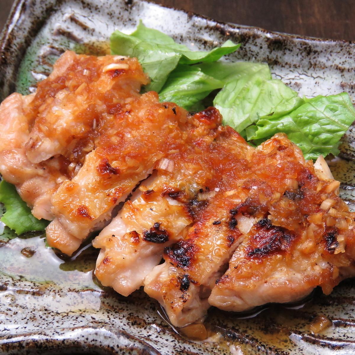 カリカリ鶏の香味ソース
