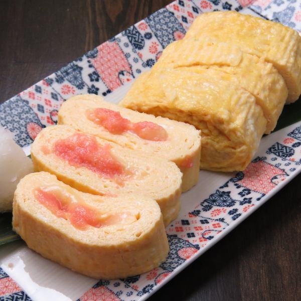 明太チーズ出し巻き玉子