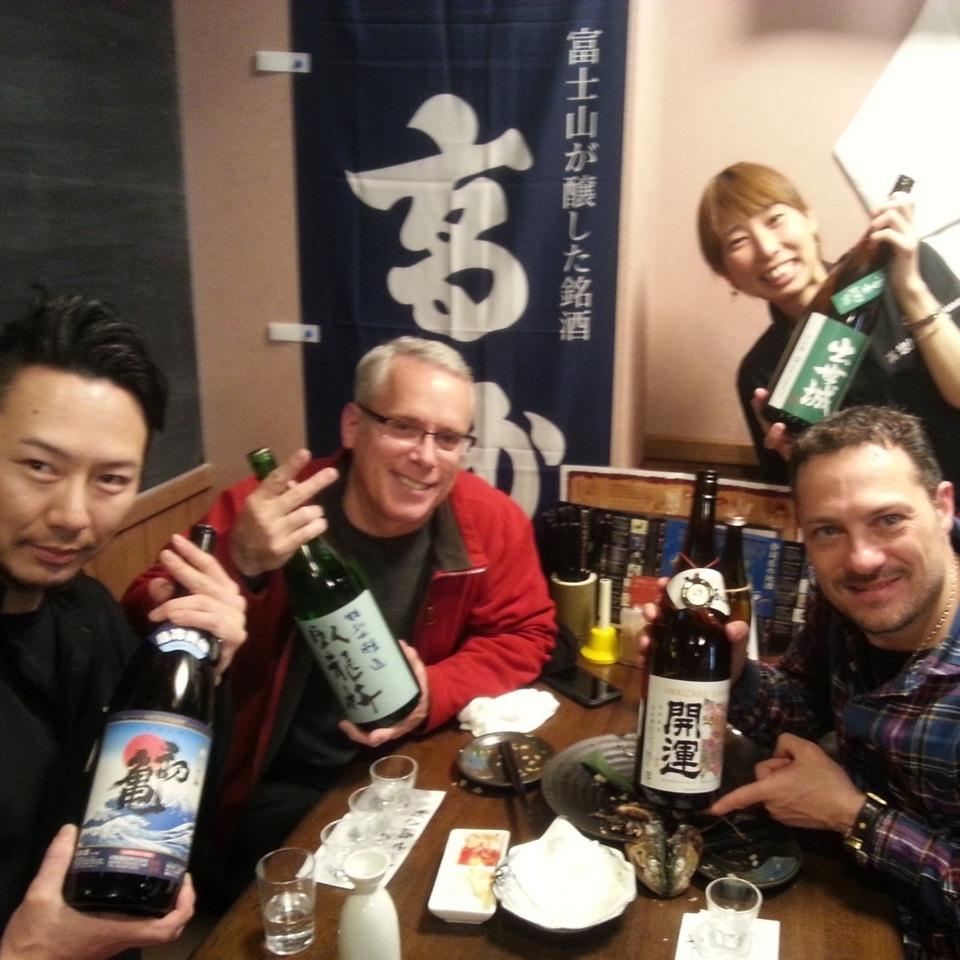 [연회 풍경] 외국인도 술 즐겨주고 있습니다 ♪