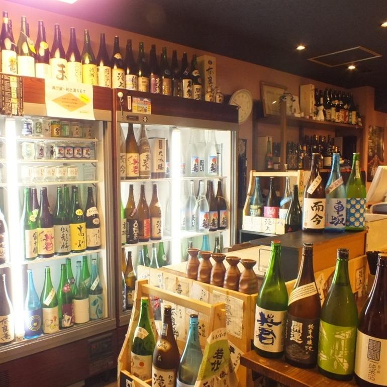 静岡地酒も県外日本酒も季節ものをしっかり取り揃え、お客様に最高の日本酒をご提供致します。