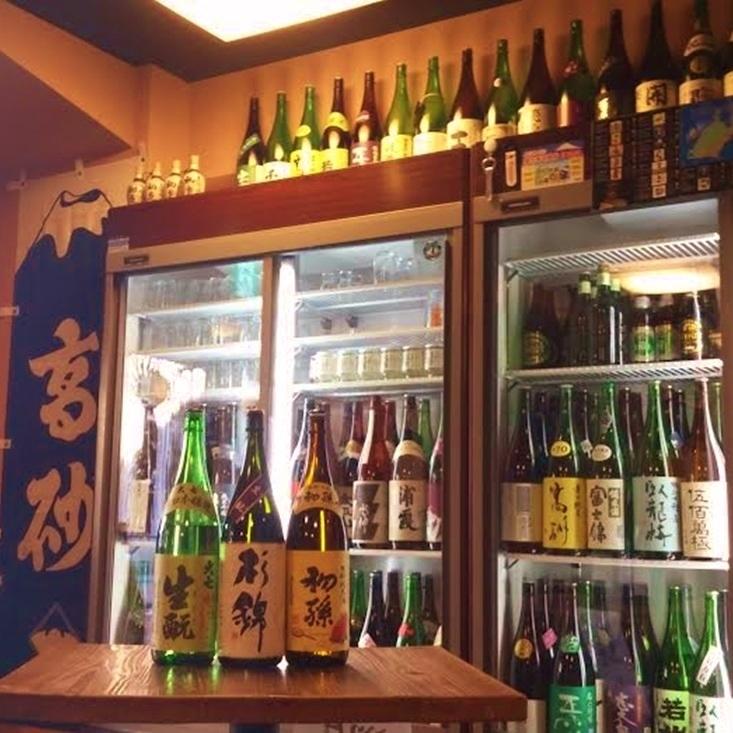 The local sake in Shizuoka got stuck !!