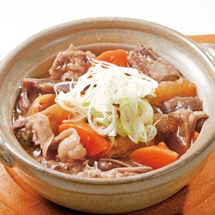 Boiled beef stew