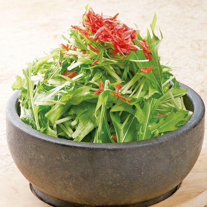 Ishibabe hot vegetable salad