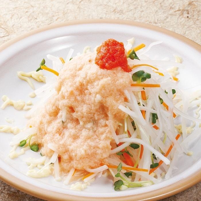 Tororama radish salad with radish