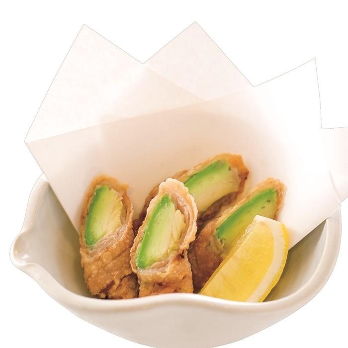 【Mura-1 Grand Prix No. 1】 Meat-roll fried avocado Tatsuta fried