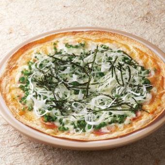 日本式洋葱蜂披萨