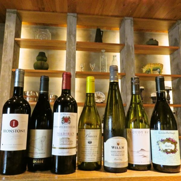 Variety of wines ★ ★