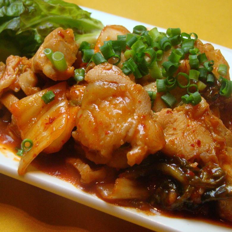 若鶏韓国焼き/若鶏韓国焼き(辛さ10倍)