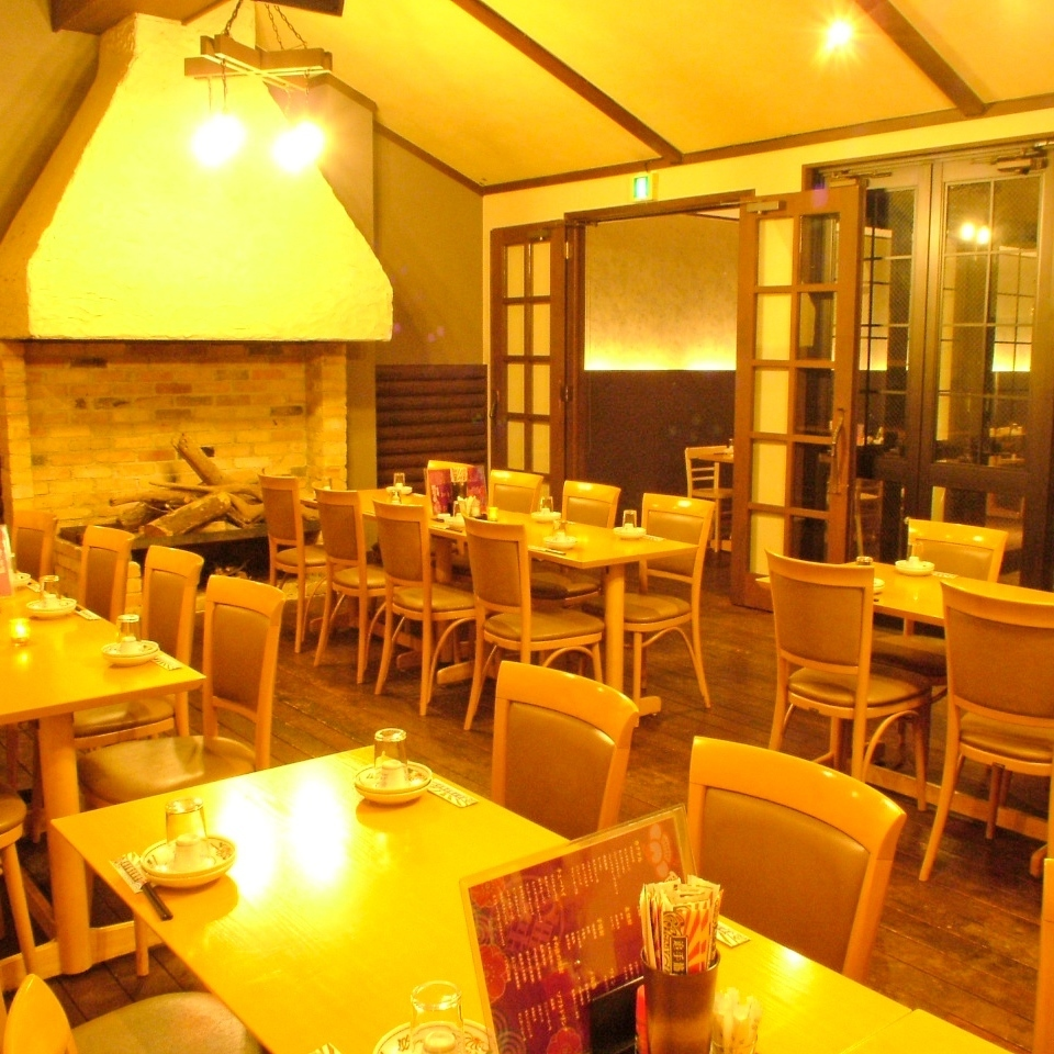 【3 floor floor】 Oku is a table seat with OK for up to 45 people!