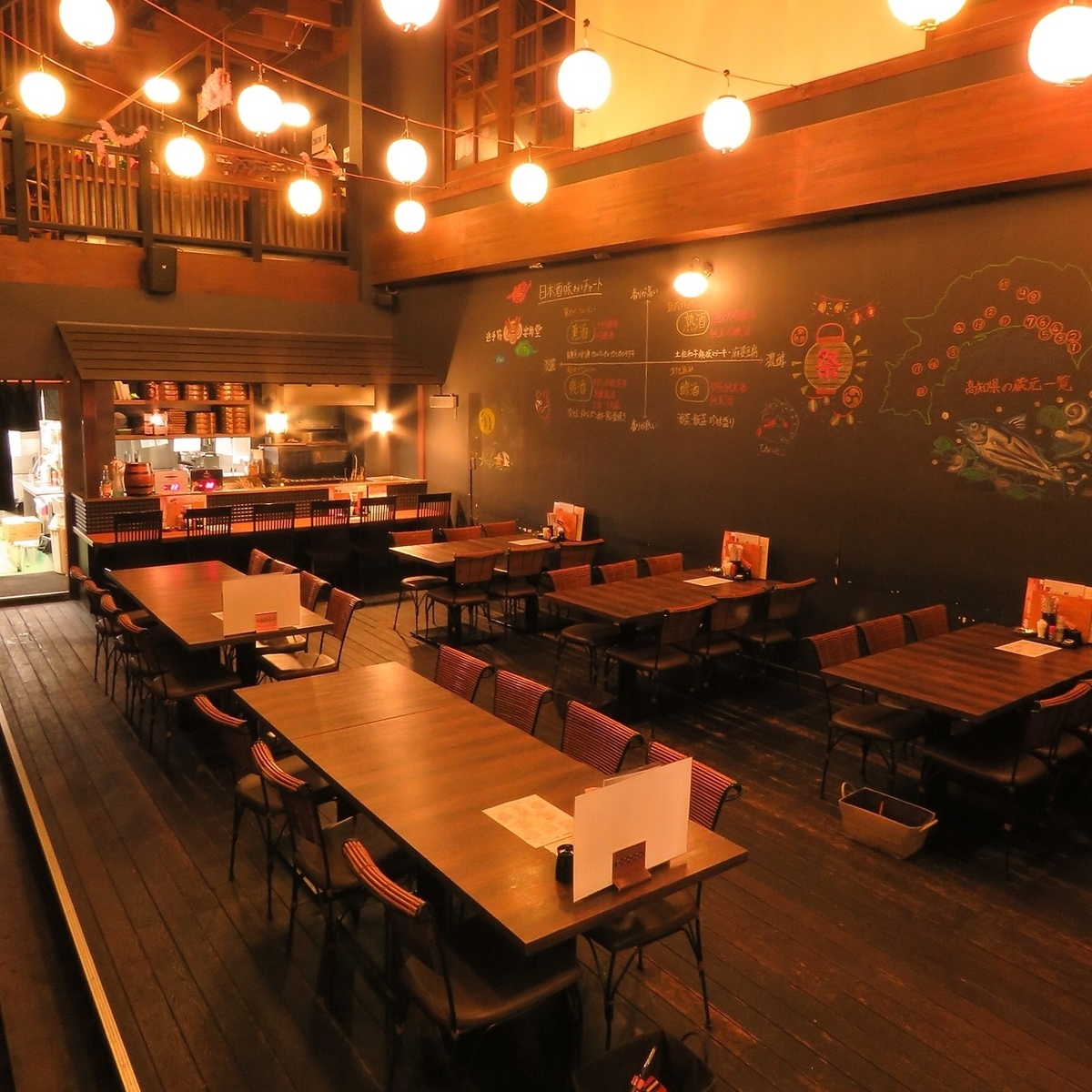 【1st Floor Floor】 Up to 80 persons can be reserved for 1st Floor up to half underground seat also available