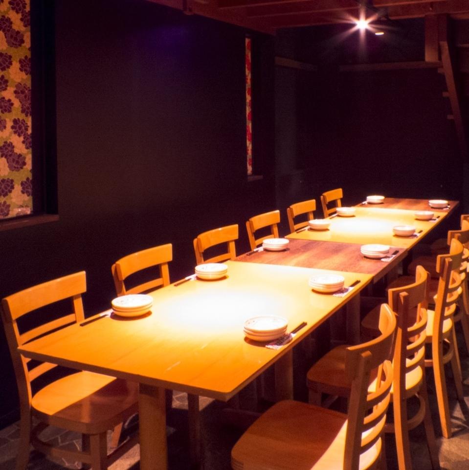 【1樓層】您可以這樣連接,以容納大量的宴會和餐飲(12人,18人,24人等)★請隨時與我們聯繫!