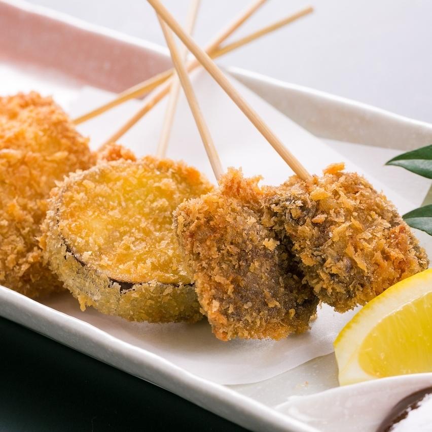 土佐的串肉餅(鯨魚,四萬子豬肉,龍馬大獎,土佐金子)