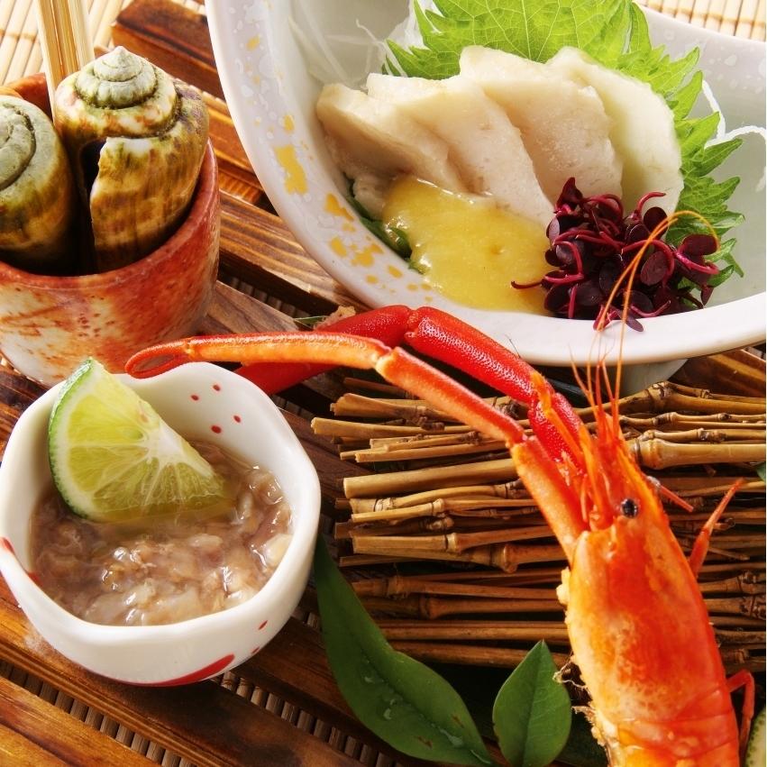Tosa's delicacy flour (frills, chamla, shrimp lobsters, liquorists)