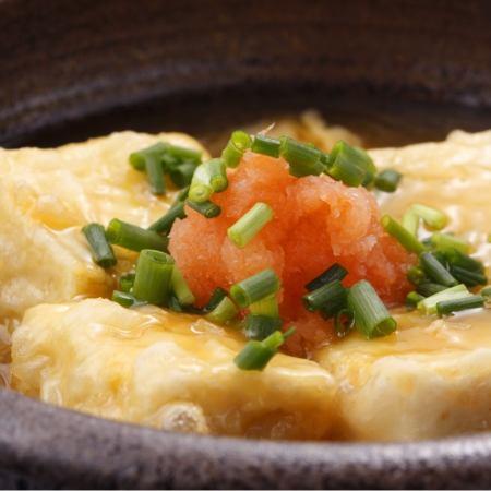 油炸豆腐/土佐紅芸豆黃油棒