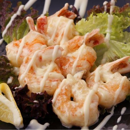 Puripuri Toss shrimp mayonnaise