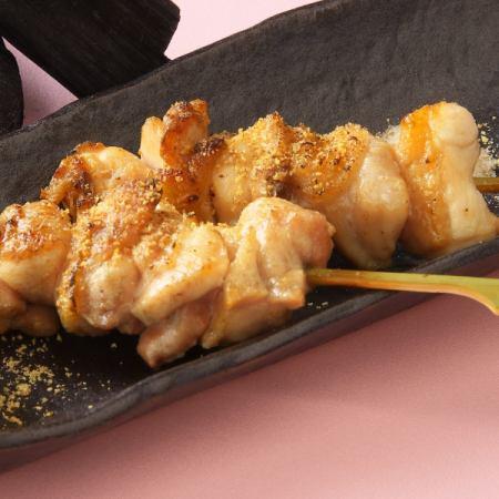 桃肉串(鹽,醬)