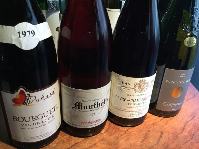 品尝1970年代的法国葡萄酒!