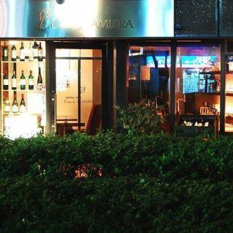 法国葡萄酒专家的一个小酒吧