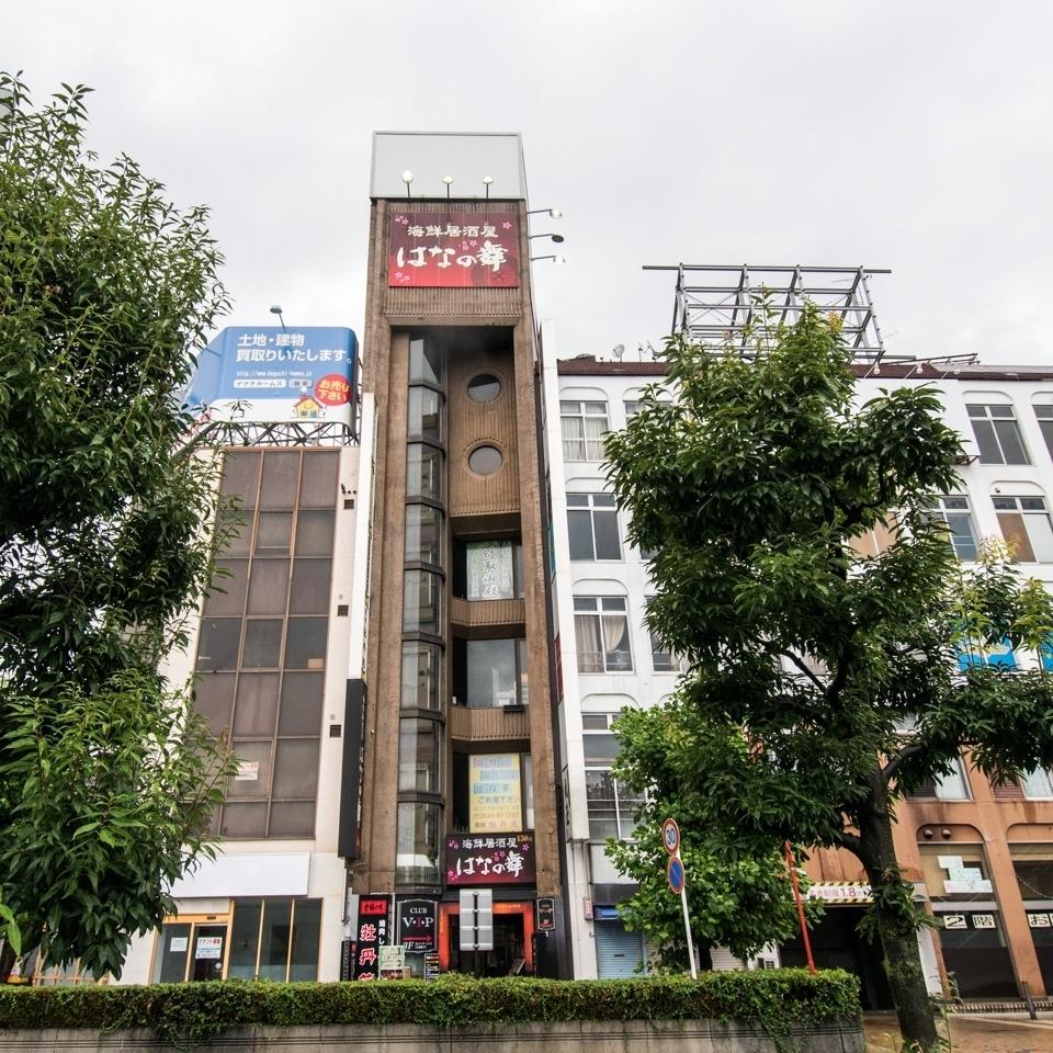 富士站西立交桥★与Hanano的Mai相同的建筑物★秘书在车站前是安全的