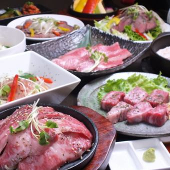 Meat BAR Flow · Ultimate Course 【Cooking 14 items over 200 kinds of all-you-can-drink all-you-can] 6,000 yen